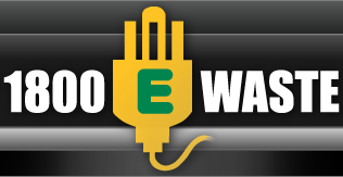 E waste and Computer Recycling Logo
